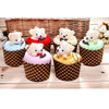 Adorable Mini Bear Cup Cake Shape Towel