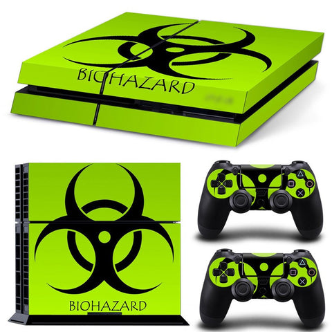 BIO Hazard PS4 Skin Anti-slip Decal
