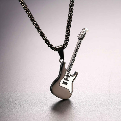 Black Gold Electric Guitar Rope Chain