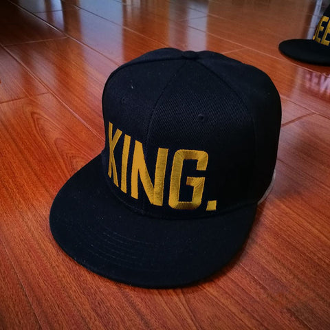 King and Queen Couples Hat