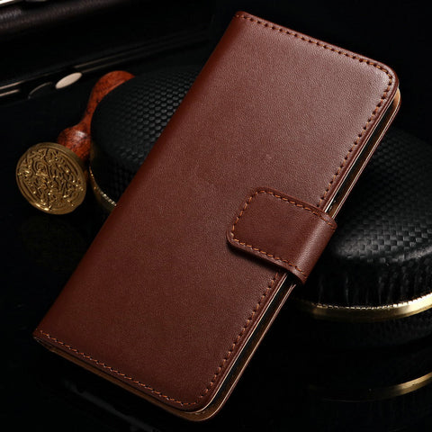 Luxury Genuine Leather Case for Samsung Galaxy