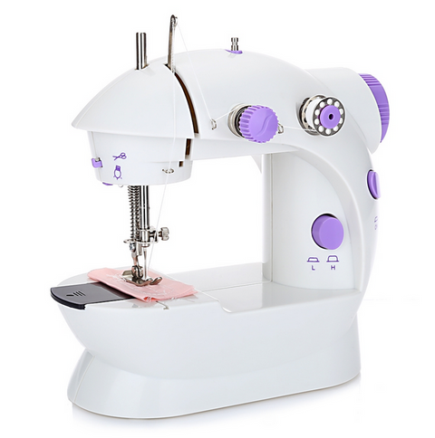 Mini Dual Speed Double Thread Multifunction Sewing Machine
