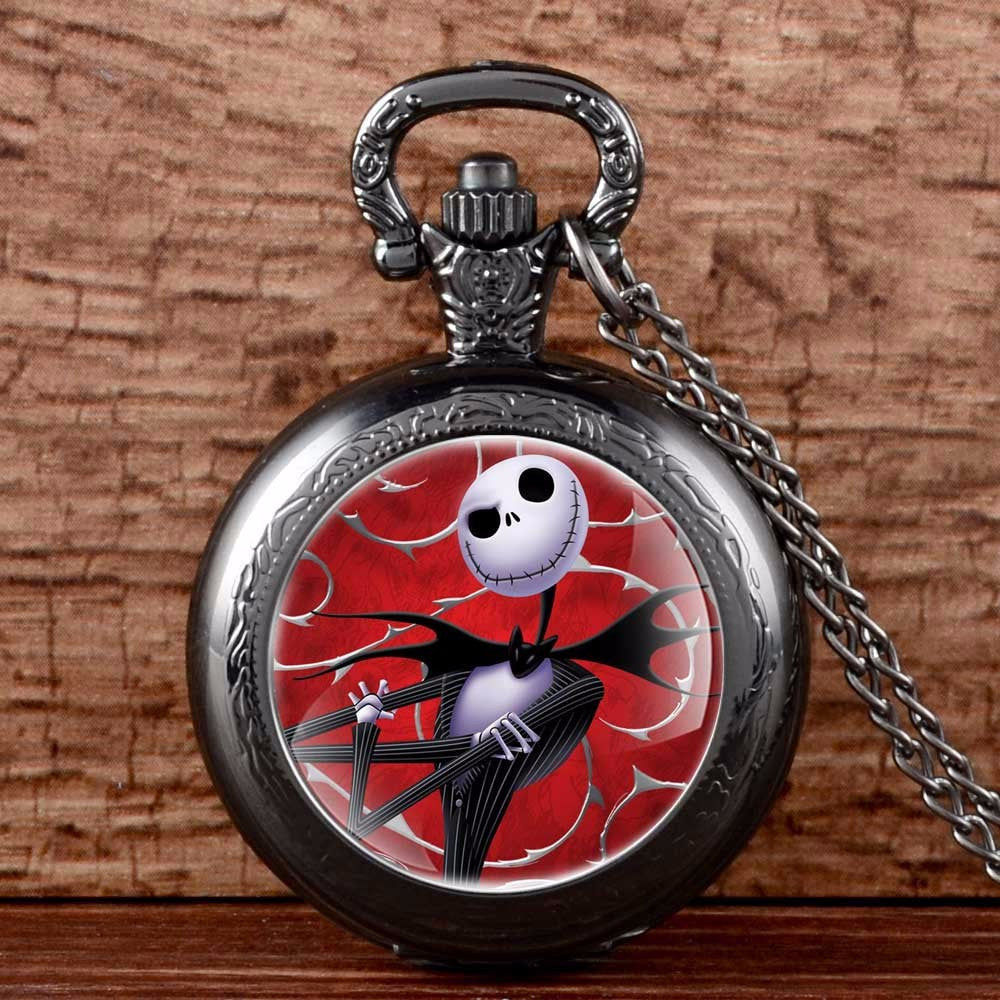Nightmare Before Christmas Antique Pocket Watch – Love a Sale