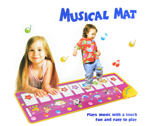 Piano Musical Kids Baby Mat