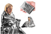 Survival Gear Rescue Space Silver Mylar Thermal Blanket Wrap