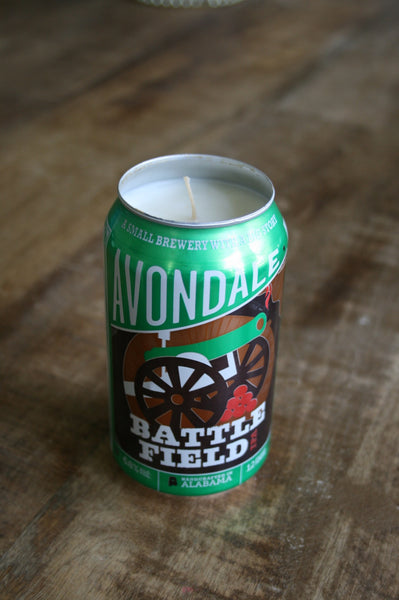 Beer Can Candle