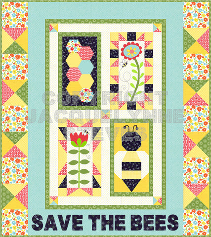 Save the Bees Finishing Instructions - Digital