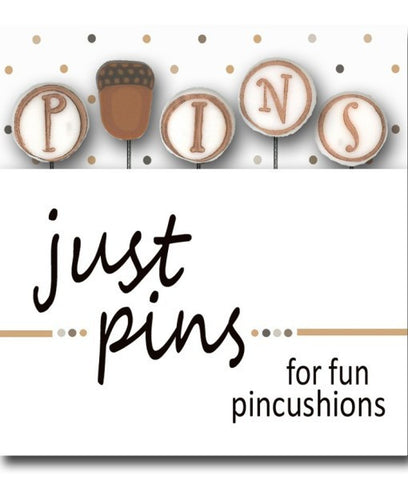 Decorative Pins - Acorns P is for Pin