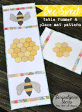 Bee Sweet Table Runner and Placemat Pattern- Digital