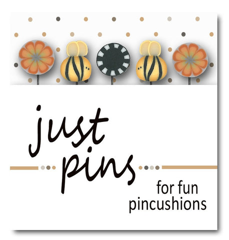 Decorative Pins - Bees & Blooms