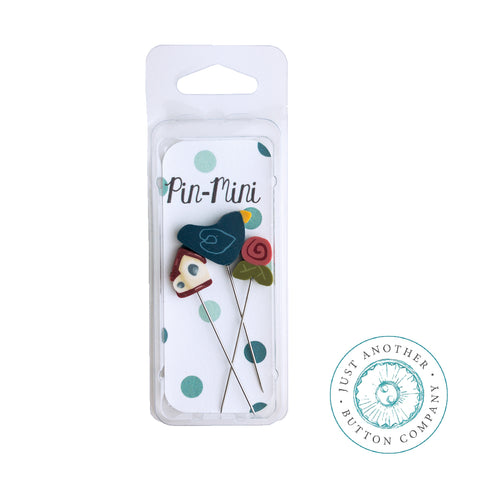 Decorative Pins - Home Tweet Home Birdhouse Mini Pack