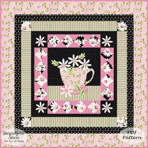 Chamomile Afternoon Quilt Pattern - Digital