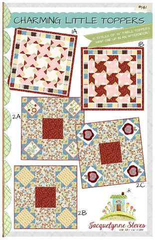 Charming Little Toppers Quilt Pattern - Digital