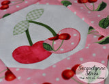 Oh, Cherry! Mini Quilt Pattern- Digital