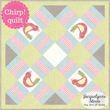 Chirp! Mini Quilt Pattern- Digital