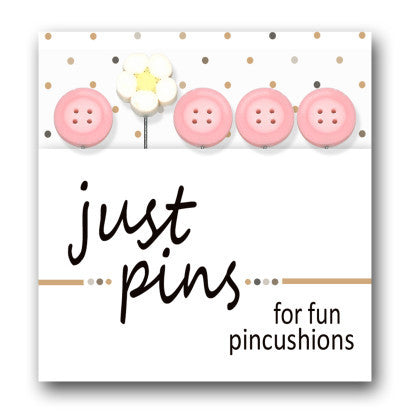 Decorative Pins - Buttons & Daisy
