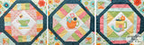 Cozy Afternoon Block of the Month Quilt Pattern - Digital - BLOCK 4