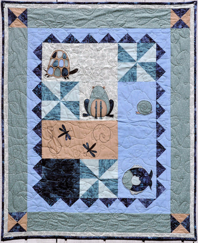 David's Playmates Quilt Pattern