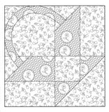 The Farmer's Wife Quilt Coloring Book