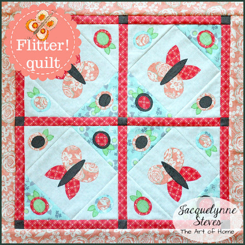 Flitter! Mini Quilt Pattern- Digital