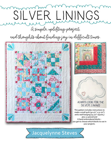 Silver Linings Quilt & Wall Hanging - Digital Pattern