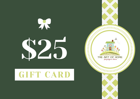 The Art of Home Gift Card