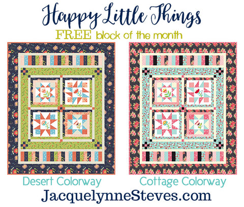 Happy Little Things Borders & Finishing Instructions - Digital