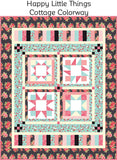 *Limited Edition Fall 2019* Happy Little Things Block of the Month Fabric Kit