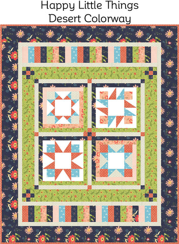 Happy Little Things Block of the Month Fabric Kit