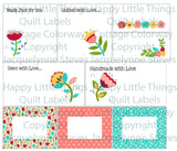 Happy Little Things Quilt Labels