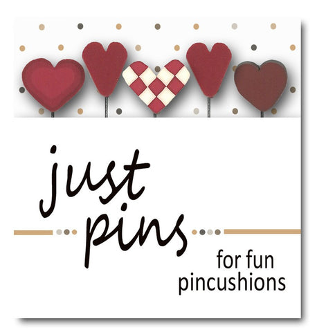 Decorative Pins - Hearts