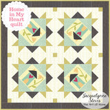 Home in My Heart Mini Quilt Pattern- Digital