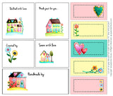 I Love Home Quilt Labels by Jacquelynne Steves