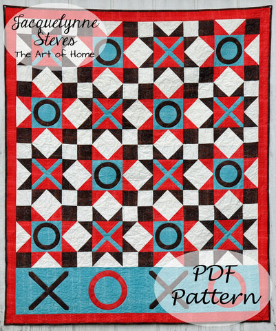 Hugs and Kisses Quilt Pattern - Digital