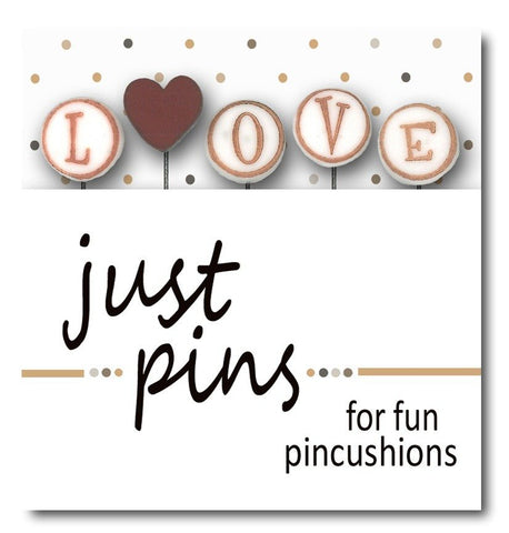 Decorative Pins - Love