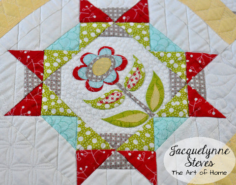 Maggie's First Dance Block of the Month Quilt Pattern - Digital