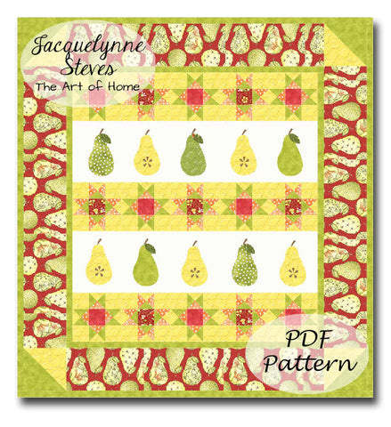Grandma's Pantry Quilt Pattern - Digital