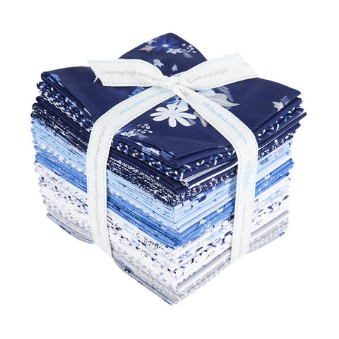 Blue Stitch Fat Quarter Bundle