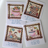 Sewing Room Social Note Cards
