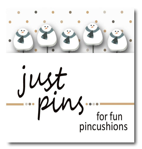 Decorative Pins - Snowmen