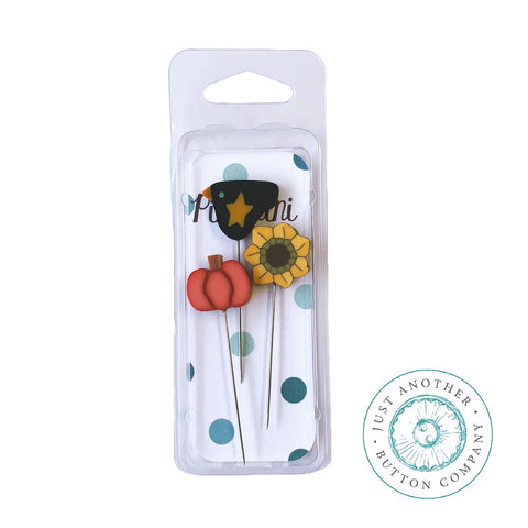 Decorative Pins - Autumn Mini Pack