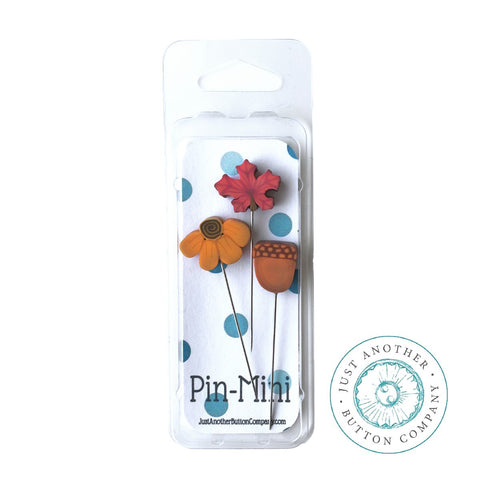 Decorative Pins - Autumn Mini Farmhouse Pack