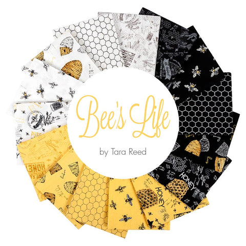 Bee's Life Fat Quarter Bundle (Riley Blake Designs)
