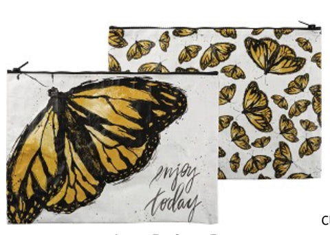 Butterfly Zipper Folder