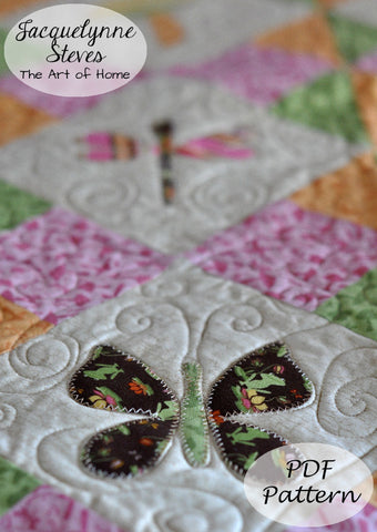 Flutterby Quilt Pattern - Digital