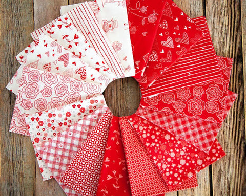 From the Heart Fat Quarter Bundle (Riley Blake Designs)