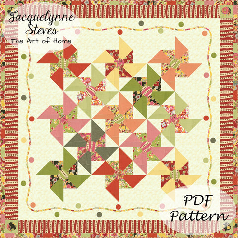 Merry Go Round Quilt Pattern - Digital