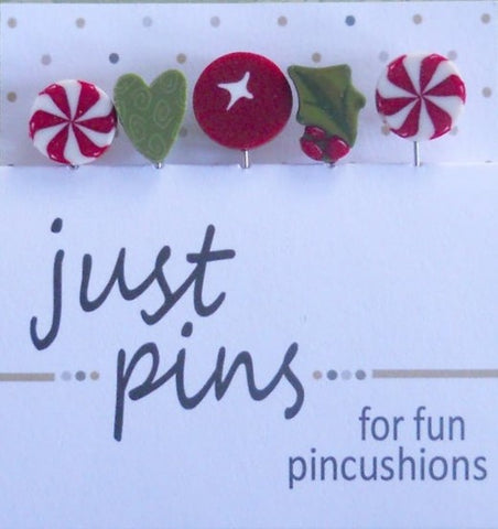 Decorative Pins - Mistletoe Holiday
