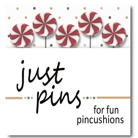 Decorative Pins - Peppermint Swirl