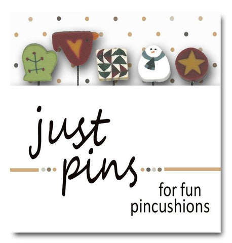 Decorative Pins - Winter Cuties